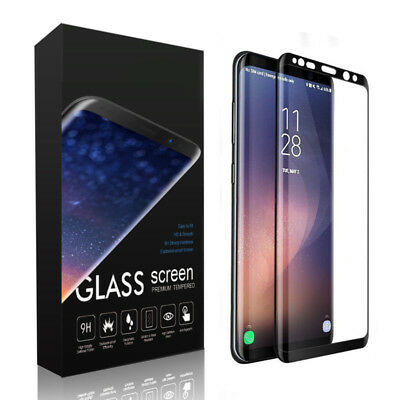 3D Tempered Glass Screen Protector Guard For Samsung Galaxy S9/S8/Plus/Note 9