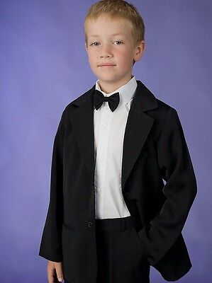 BOYS BLACK JACKET, Size choices 000 to 16 YRS, NEW, AUSTRALIAN, WEDDINGS, GUESTS