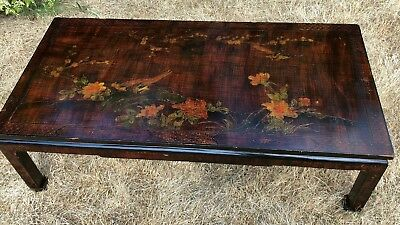 Antique Vintage Beautiful Chinese Oriental Japanese Decorative Wooden Table *