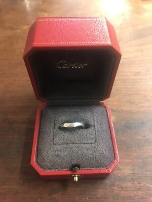 Cartier White Gold Ring 18k Size L Same Day Despatch UK Seller