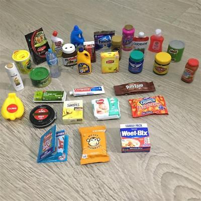 FULL SET Coles Little Shop Mini Collectables All 30 EXPRESS POST With Tracking
