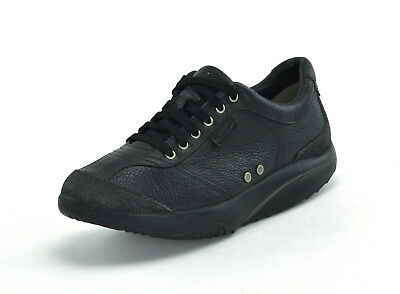 Mbt Tembea Leather - Mens Casual Shoes - 400126-03 - Black - Uk 7 - Brand New