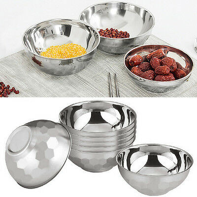 Portable Anti-Rust Stainless Steel Smooth Rolled Edge Resistant Bowl Tack-A