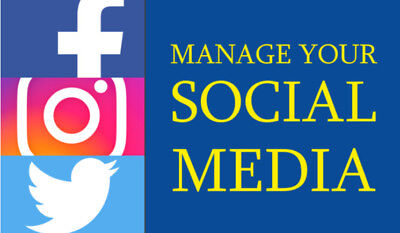 Professional management of your social media for 30 days