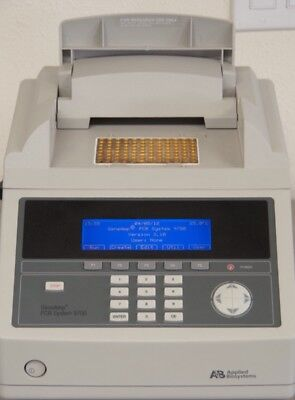 Applied Biosystems ABI GeneAmp PCR System 9700 with 96-Well Gold-Plated