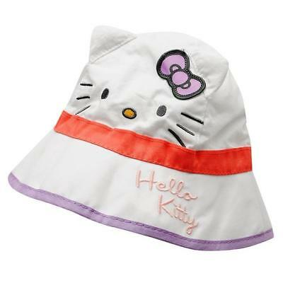 Hello Kitty Bucket Hat, Licensed, Brand New, Cotton Baby Ears , Hat, Baby Size