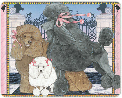 Poodle Large Cutting Board