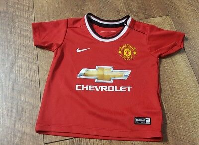 Manchester United Baby Foorball Top 6-9m