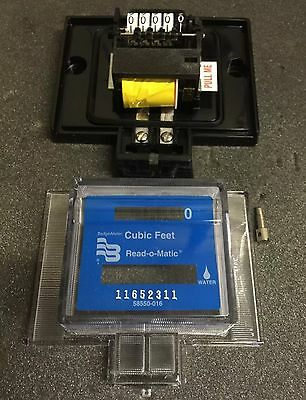"Badger Water Meter Pulse Remote 5/8-1"" Cubic Feet"