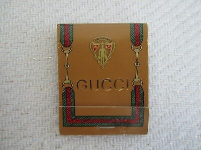 Gucci Vintage Matches - ***unopened** Purchased At The Beverly Hills Store 1981