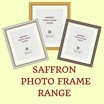 Bevelled Photo Frame with Trim, including off white mount and glass front