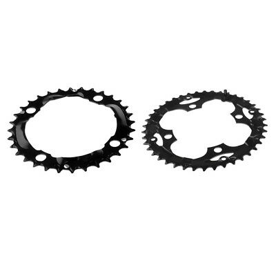 2Pc 104mm Moutian Bike Chainring Narrow Wide Single Speed Chain Ring 32T 42T
