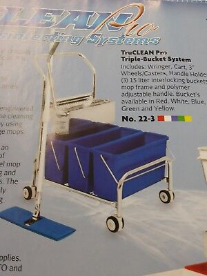 TruClean Pro Triple Bucket Mopping Systems