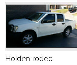 Holden rodeo 2006 low reserve NOT damaged