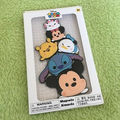 Hong Kong Disneyland Disney Tsum Tsum Magnet Large Brand New In Box!