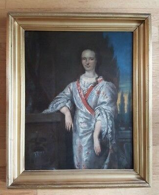VINTAGE - VERY NICE, 19th Century Framed Oil On Canvas Painting (French)