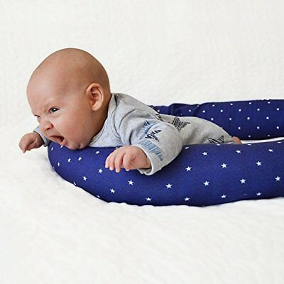 """Kookoolon 79/"""" Organic Cotton Bumper Snake Pillow for Crib Bassinet and Bed"""