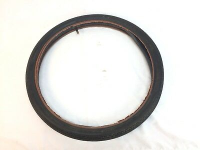 1964 Schwinn Stingray Westwind Front Tire Red Liner Matching Tube Feb 64 Used