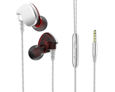 Music Earbuds Running Sport Earphones with MIC Noise Isolation Workout