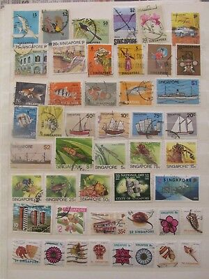 Singapure stamp collection