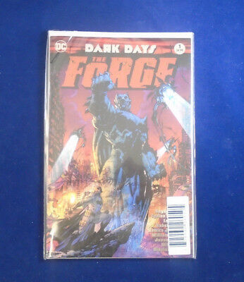 DC Dark Days The Forge Limited Signed Series by Scott Williams #107/180 Sealed