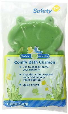 Safety 1st Comfy Bath Cushion, Green (Open Packaging)
