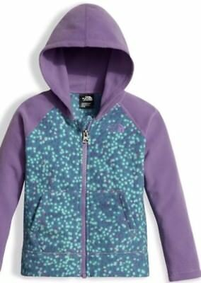 d4e51154a THE NORTH FACE Infant toddler Girls Glacier Full Zip Hoodie JACKET ...