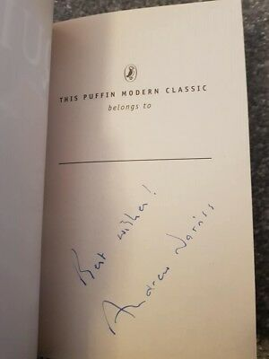 Signed Andrew Norriss Aquila Book Charity Auction Brittas Empire
