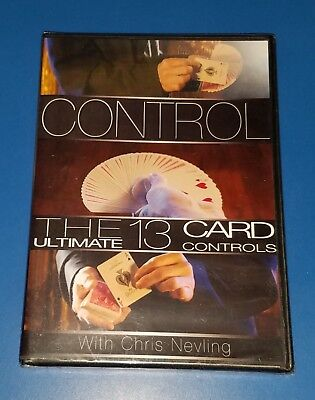 CONTROL WITH CARDS Ultimate 13 Card Controls Chris Nevling DVD Magic Makers NEW