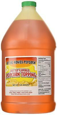 Buttery Flavor Popcorn Topping Gallon Only