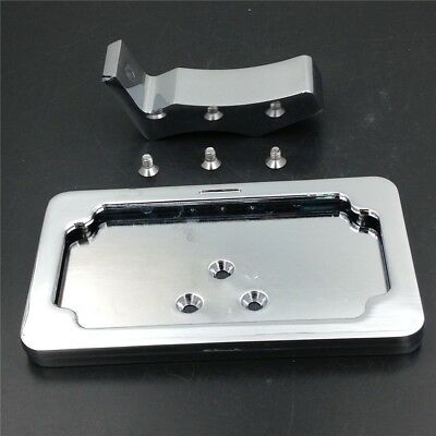 Chrome License Plate Bracket For Suzuki Katana TL1000/Honda CBR 600 900 925 954