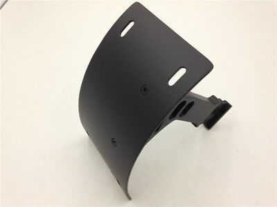 Black Side Mount Curved License Plate Bracket For Honda 1993-1999 CBR 900R