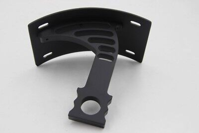 Side Mounted Curved License Plate Bracket For 2005-2012 Honda CBR 600RR Black