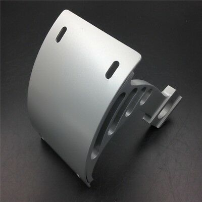 Side Mount Curved License Plate Bracket Holder For 04-05 Yamaha YZF-R1 Polish