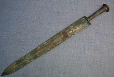 Authentic Ancient Chinese Bronze Sword Jian Warring States  475–221 B.C.