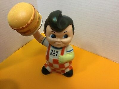 "1999 Bob's Big Boy 8"" Vinyl Figure Bank Elias Brothers Restaurants"