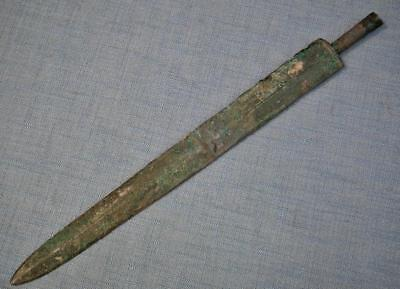 Authentic Ancient Warring States  Chinese Bronze Sword Jian 475–221 B.C