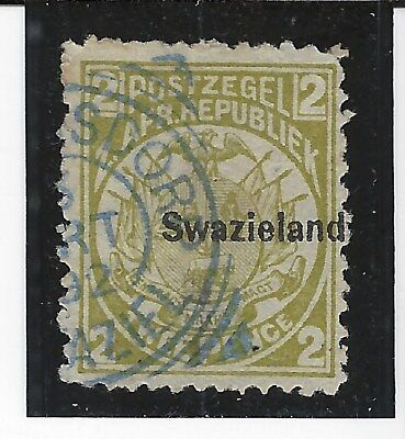 SWAZILAND...# 3c  (Perf 12 1/2 x 12)...1889...Used...SCV $ 37.50