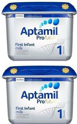 (Pack of 2) Aptamil Profutura Stage 1 First Infant Milk from birth 800g + 800g