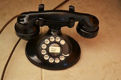 1936 Western Electric 202 Telephone, D1 Base, 4H Dial, E1 handset, 684BA Subset