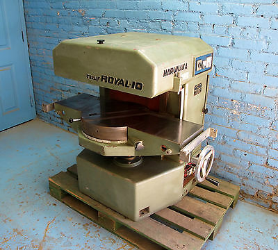 Marunaka Royal 10 Surfacer Fixed Knife Planer  3 Phase 3 HP 208-230/460 V