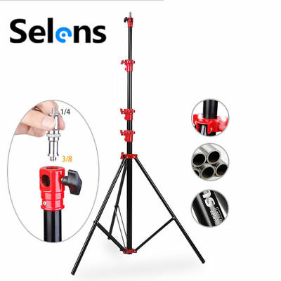 AU STOCK Selens 13' (4m) Air Cushioned Heavy Duty Photo Studio Light Stand NEW