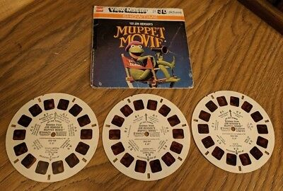Vintage View Master 3 Reels Scenes From Jim Henson's Muppet Movie 1979 002-196