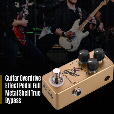 MOSKY Golden Horse Mini Centaur Overdrive Boost Effect Pedal 4 Electric Guitar