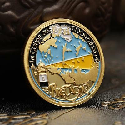 Colored Classic Titanic Commemorative Coin Collection Craft-Gift au