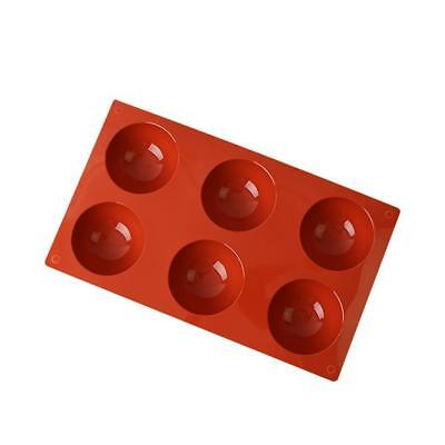 Soap Mold Round Half Ball Silicone Cake Mould For Candy Chocolate-Resin