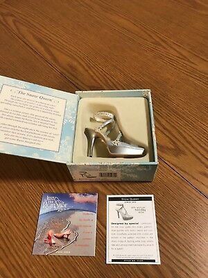 """Fit For a Queen """"Snow Queen"""" Just the Right Shoe By Raine"""