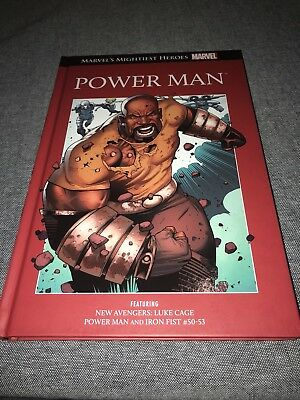 "Marvel's Mightiest Heroes ""Power Man"" New Avengers Book"