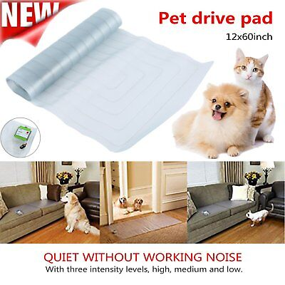 Indoor 12*60'' Electronic Pet Training Pad Dog Barrier Repellent Shock Scat Mat