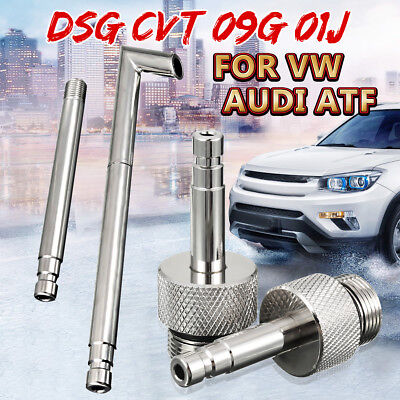 4pcs Oil Filling Filler Transmission Service DSG//01J//09G//CVT Adapter For VW Audi